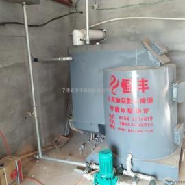 猪舍环保智能地暖取暖锅炉改变养殖环境