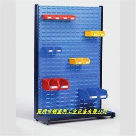 订制方孔挂板车,百叶挂板推车,车间螺丝搬运车,螺丝推车