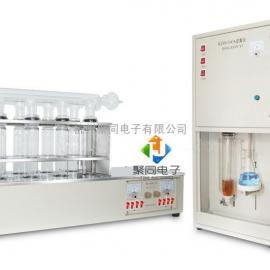 定氮蒸馏器(凯式定氮仪),氮含量滴定