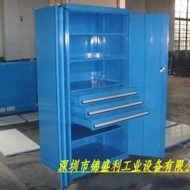工具存放柜,车间物品储存柜,钢制双开门置物柜