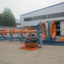 山东交建钢筋笼成型机-自动化钢筋笼滚焊机-数控钢筋笼滚焊机