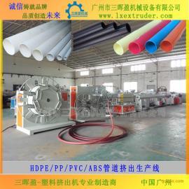 高品质PVC排水管、穿线管生产线|塑料管材设备
