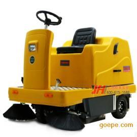 工厂环境清洁车小区道路树叶灰尘扫地机热卖