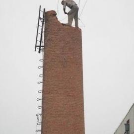 吕梁烟囱拆除加高