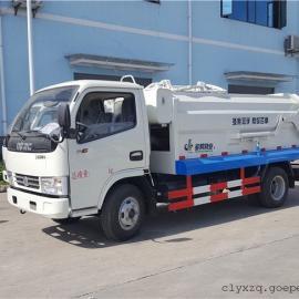 3吨挂桶压缩垃圾车