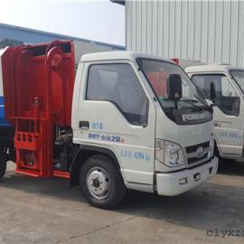 挂桶式垃圾车车型