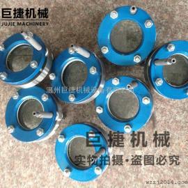 温州厂家直销带冲洗视镜 碳钢法兰视镜 对夹式法兰视镜