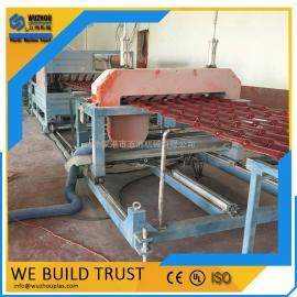 塑料合成树脂瓦成型机械设备 PVC树脂瓦生产线