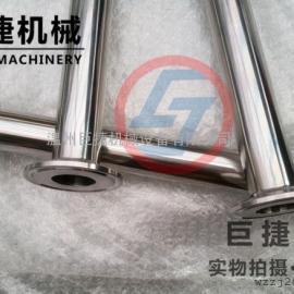 不锈钢快装直通 直通接头 卫生级快装直通