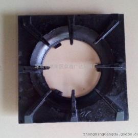 商用厨具配件煲仔炉300*300生铁板煲仔炉单头板