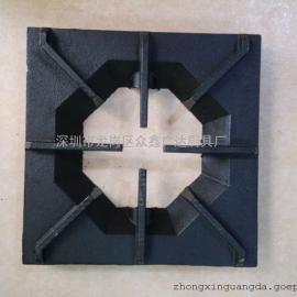 商用锅炉配附件 矮仔炉面板 商用厨具生铁铸件八角炉花板