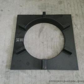 锅炉配件炉座面生铁沟风板450*450挡火沟风板
