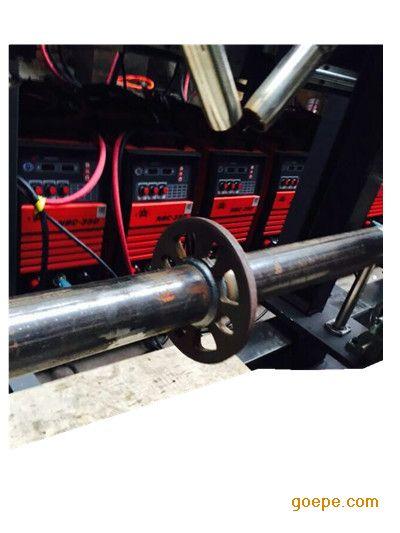 非标横杆双枪自动焊接设备广东伊亚直销脚手架焊机