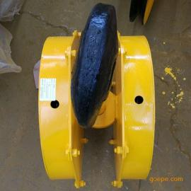 10T吨全封吊钩组 起重机吊具 挂梁吊具 本地钩铸钢轮