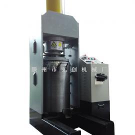 山核桃全自动液压榨油机 核桃油新型多功能320型榨油机设备