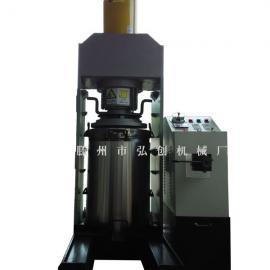 油葵大型立式液压榨油机 弘创葵花籽新型全自动液压榨油机厂家