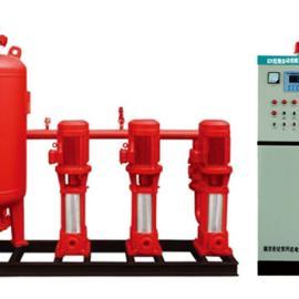 全自动变频调速恒压消防供水设备控制柜 不锈钢变频供水设备