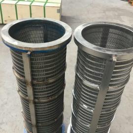 固液分离机304不锈钢筛桶 条缝过滤网 粪便脱水机筛网