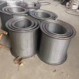 人字形网带 饼干生产网带线 加密网带生产线 食品级304材质