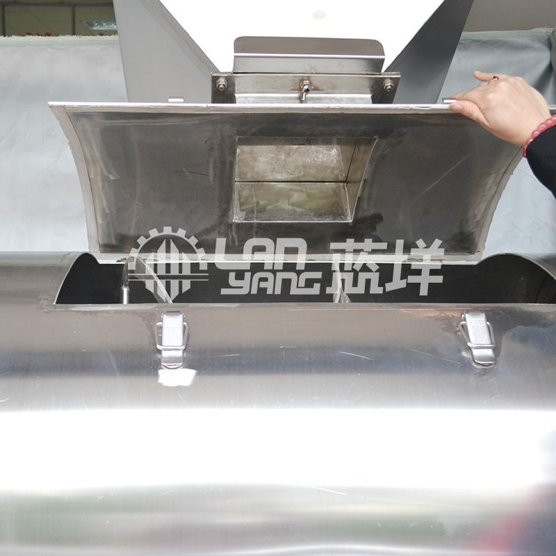 蓝��厂家供应密封型混合机 面粉防挥发搅拌机 食品机械设备