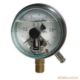 YNX-100B不锈钢耐震电接点压力表