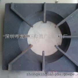 新款矮仔炉生铁板 450*550矮仔炉架板 新款生铁炉花架