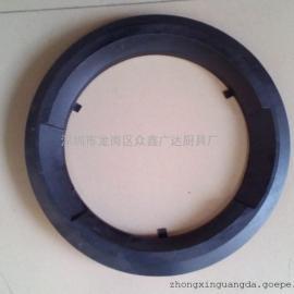 炒炉配件生铁圈铸铁圈中式锅 宽二坑无烟生铁圈