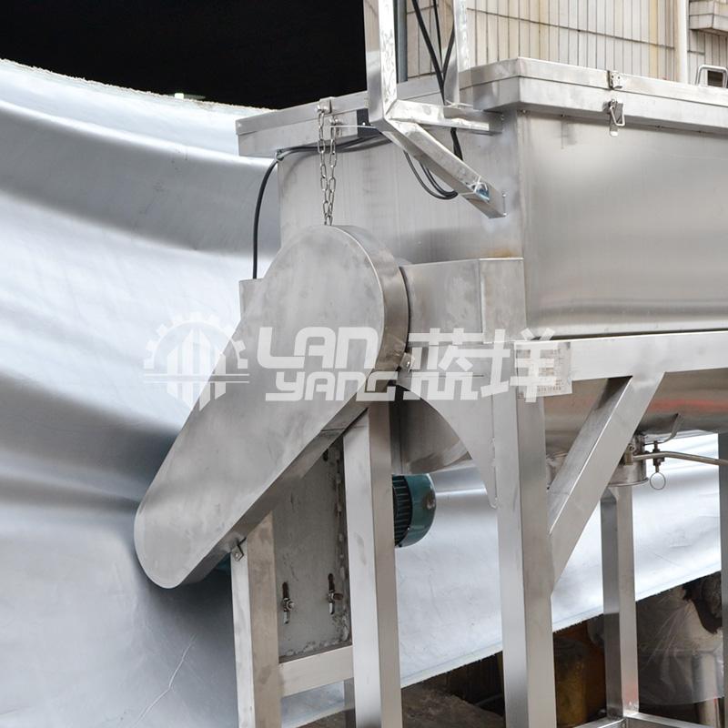 蓝��高速槽型混合机 粉末搅拌机 不锈钢桨叶混合机 混合干粉机