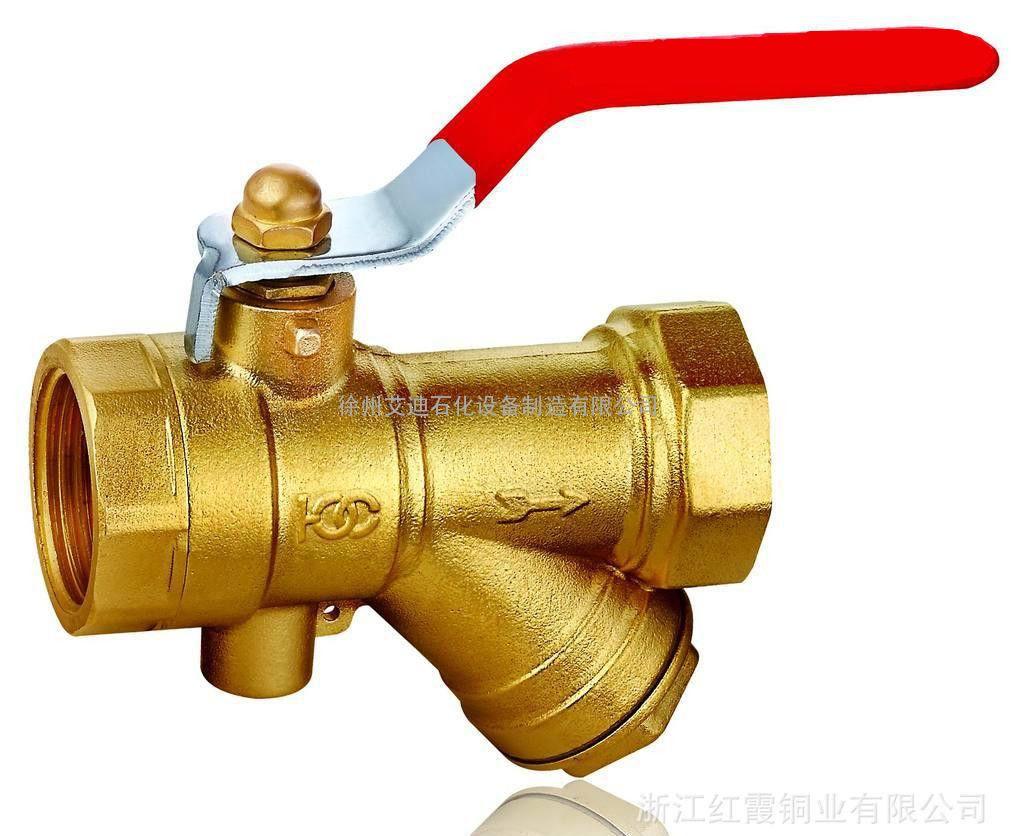 黄铜Y型过滤器图片厂家
