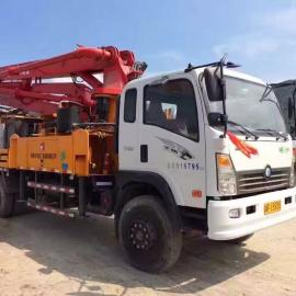 33米泵车青岛移动式小搅拌站