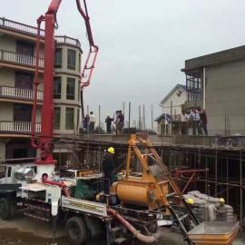 打混凝土用的农村专用泵车,濮阳混凝土臂架式泵车