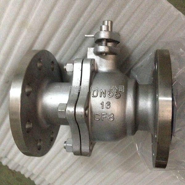 Q41F-16P国标不锈钢法兰球阀