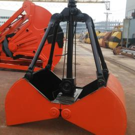 XZ15重型1.5立方水下作�I�S沙抓斗 5t汽�吊泥土抓具