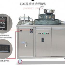 惠辉青石石磨304白口铁石磨豆乳机