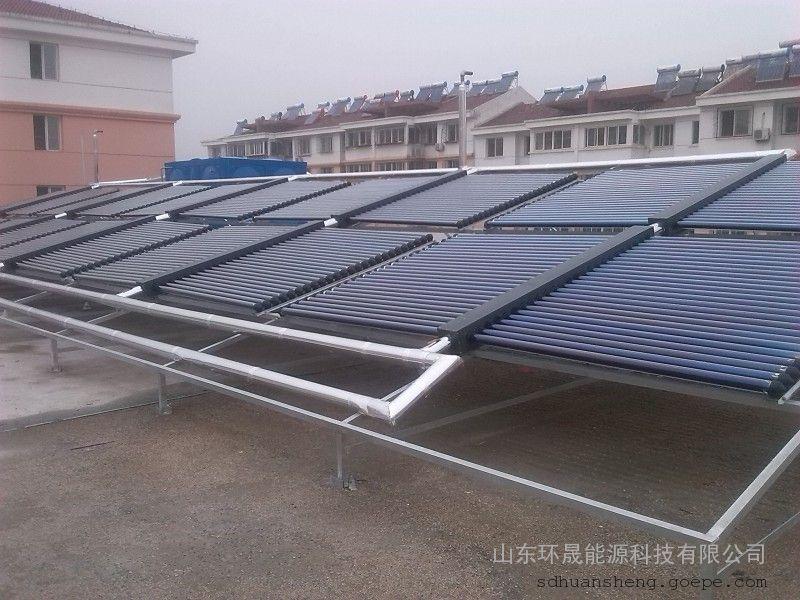 """山东环晟能源科技有限公司专业生产太阳能工程联箱,太阳能联箱集热器,太阳能联集箱,太阳能保温水箱,热泵保温水箱。 太阳能工程联箱 又名太阳能工程联集箱 太阳能工程集热箱。太阳能热水工程重要的组成部分,用于收集储存太阳能热量。 产品已经全国率先通过""""ISO9001:2000国际质量体系认证""""""""中国著名品牌""""""""全国质量服务信誉AAA品牌""""""""中国质量万里行""""""""国家进出口**备案企业""""称号,太阳能"""