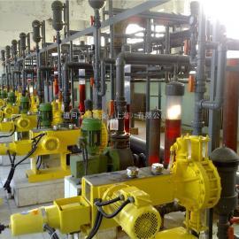 Milroyal B Metering pump fittings