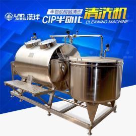 不锈钢一体式CIP就地清洗机半自动CIP清洗机酸碱清洗