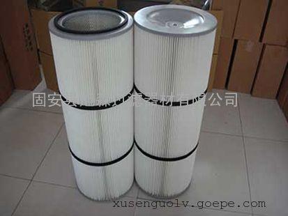 PTFE覆膜除尘滤芯细粉过滤除尘滤芯