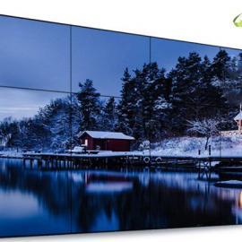 长沙连联47寸液晶拼接屏,超窄边框设计,呈现逼真震撼画面