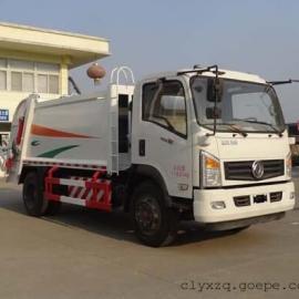 东风LNG压缩式垃圾车
