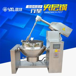 全自动行星夹层锅高粘度食品搅拌机厨房用品不锈钢机械厂家直销