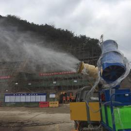 鹰潭建筑工地HYPWJ_2型50米除尘喷雾机