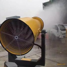 江西搅拌站 粉煤厂除尘喷雾机 降尘雾炮机