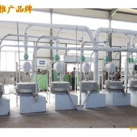 天津石磨面粉机 小麦石磨面粉加工机械 天津石磨面粉加工设备