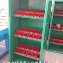 深圳数控刀具柜,双开门HSK63刀具柜,加工中心刀具储存柜