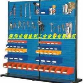 双面工具架,压铸车间移动物料整理架,移动式单面物料架