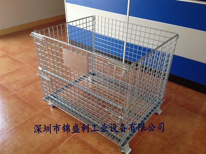 移动式仓储笼,移动式物料笼,移动式置物笼,移动铁筐