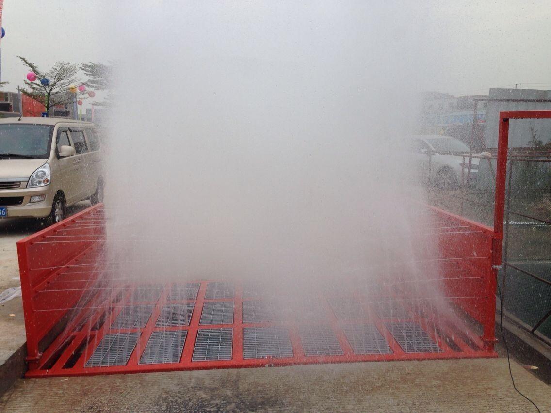 深圳泥头车专用洗轮机
