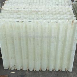 玻璃�斜管填料