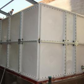 SMC玻璃钢水箱 SMC组合式水箱(玻璃钢水箱厂家)